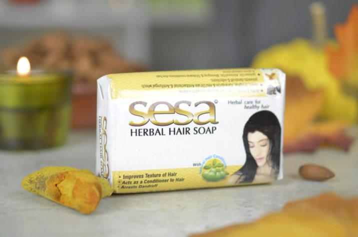 Mydło do włosów Sesa