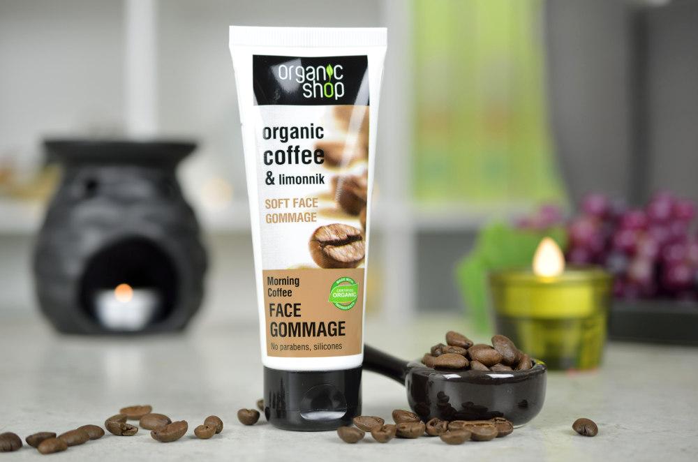 Peeling do twarzy GOMMAGE z kawą i cytryńcem chińskim