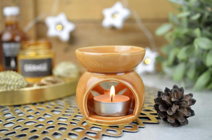 Kominek zapachowy Country Flower – pomarańczowy