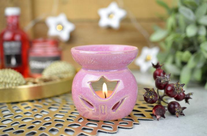 Kominek zapachowy Country Flower – różowy