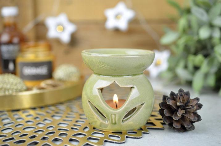 Kominek zapachowy Country Flower – zielony