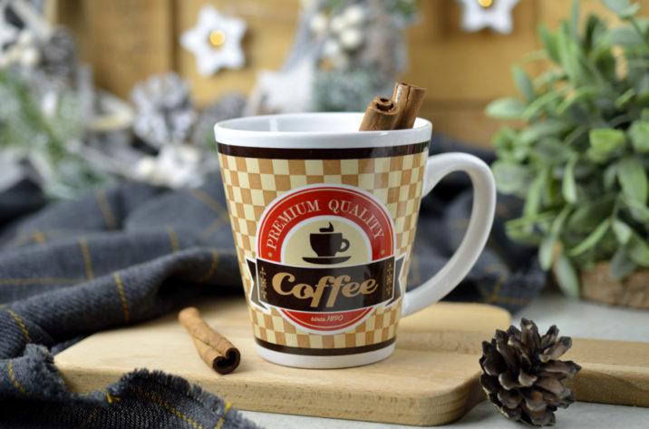 Kubek Coffee Shop - jasny brąz