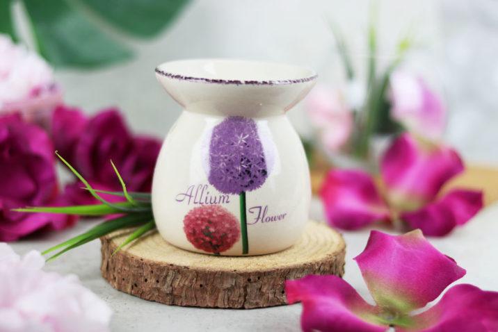Kominek zapachowy - kwiaty czosnku