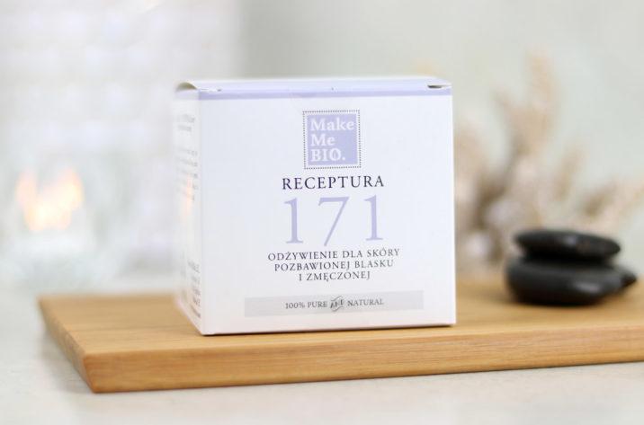 Krem do twarzy Receptura 171 – odżywienie dla skóry pozbawionej blasku i zmęczonej