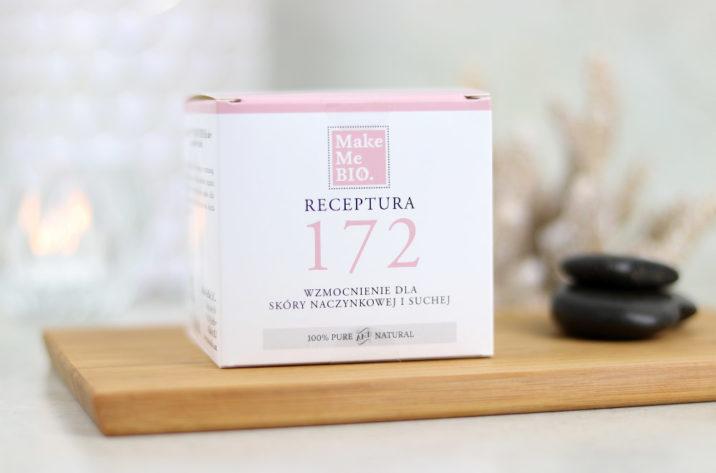 Krem do twarzy Receptura 172 – wzmocnienie dla skóry naczynkowej i suchej