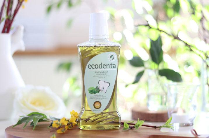 Ekologiczny płyn do płukania jamy ustnej z organicznym wyciągiem z szałwii, aloesem i olejkiem miętowym
