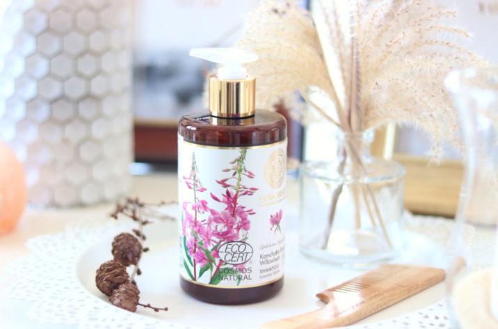 Naturalny szampon zwiększający objętość włosów