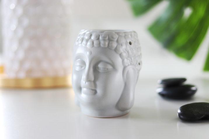 Kominek zapachowy Budda - szary