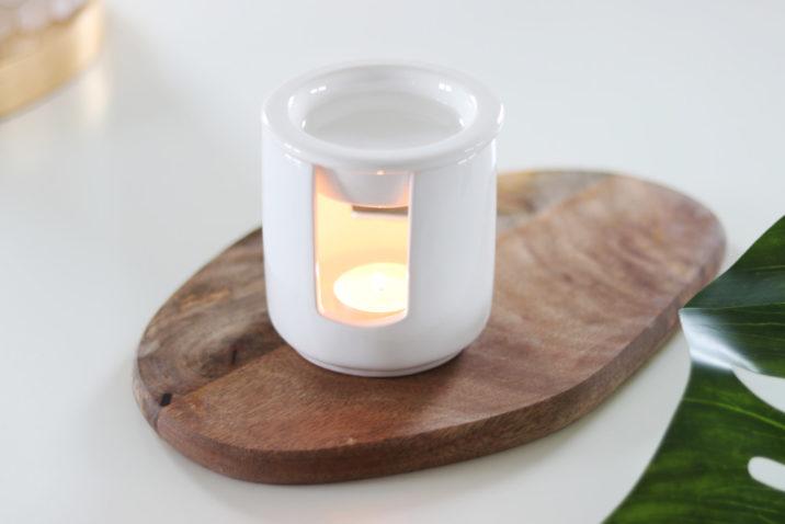 Kominek zapachowy Zen – biały
