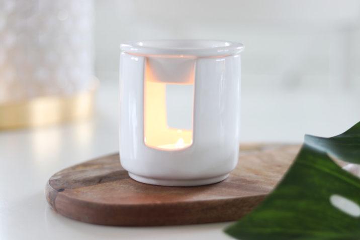 Kominek zapachowy Zen - biały