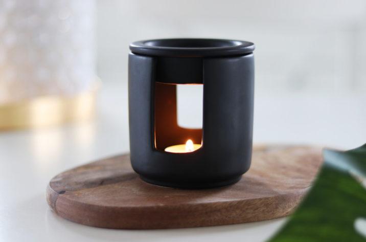 Kominek zapachowy Zen - czarny