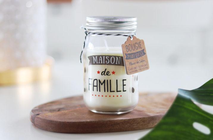 Świeca zapachowa w słoiku Maison de Famille - kwiat bawełny