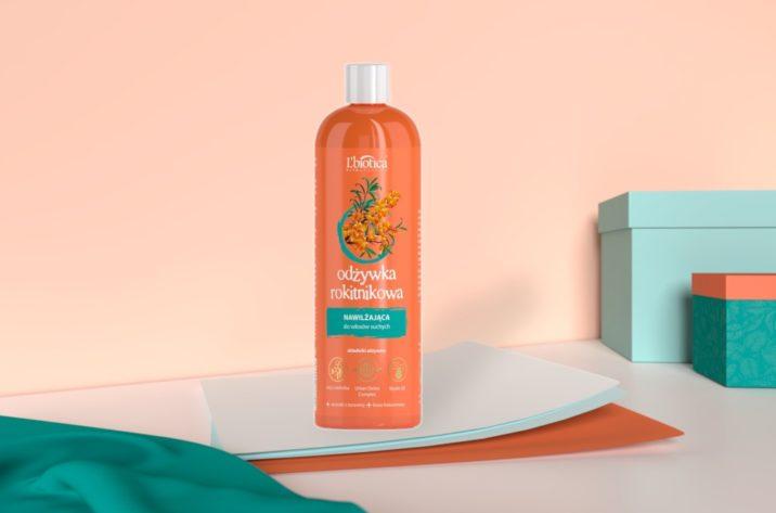 Nawilżająca odżywka rokitnikowa - do włosów suchych