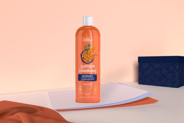 Balansujący szampon rokitnikowy - do włosów normalnych i przetłuszczających się