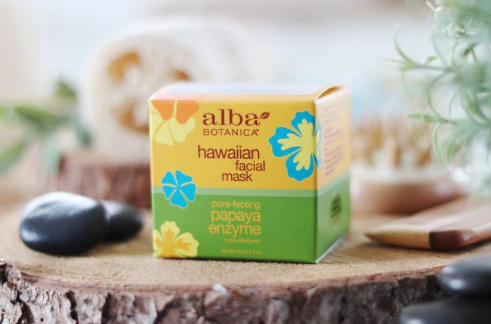 Hawajska maseczka enzymatyczna - papaja