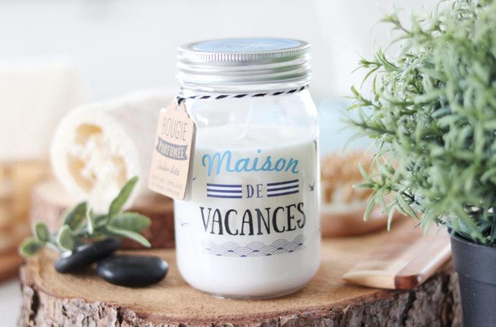 Świeca zapachowa w słoiku Maison de Vacances – letni ogród