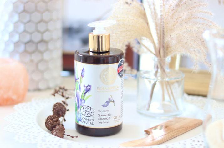 Naturalny szampon chroniący kolor włosów