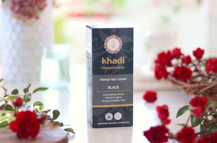 Henna do włosów Khadi Czarna