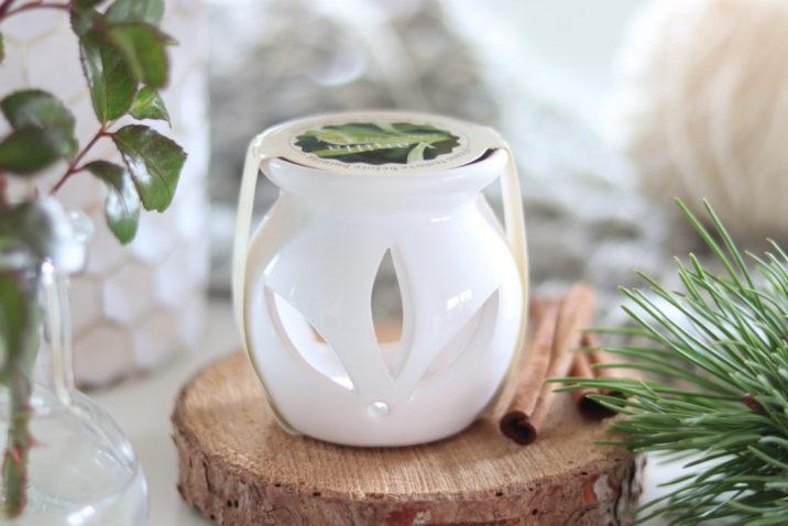 Kominek do aromaterapii z woskiem zapachowym - wanilia