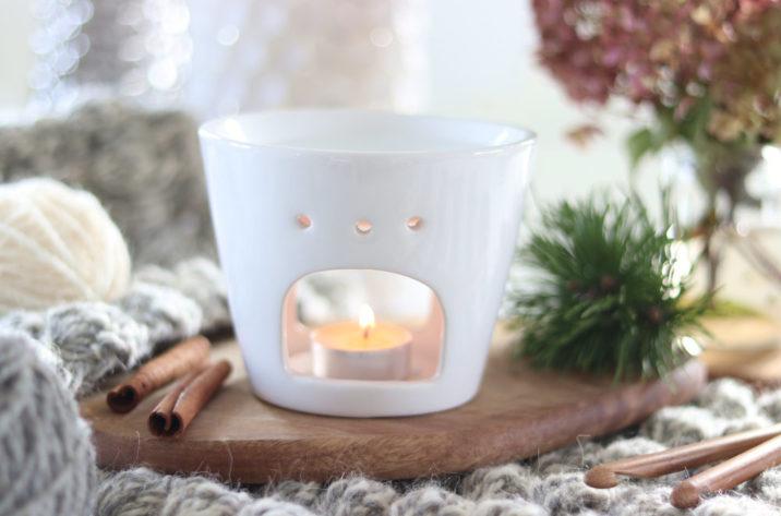Kominek zapachowy Grand Deco – biały