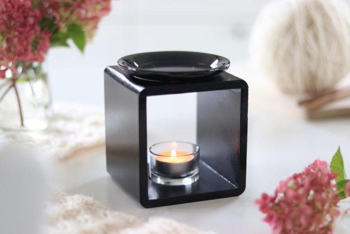 Kominek zapachowy Scandic - czarny