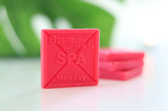 Wosk zapachowy Jabłko – zestaw 4 szt.