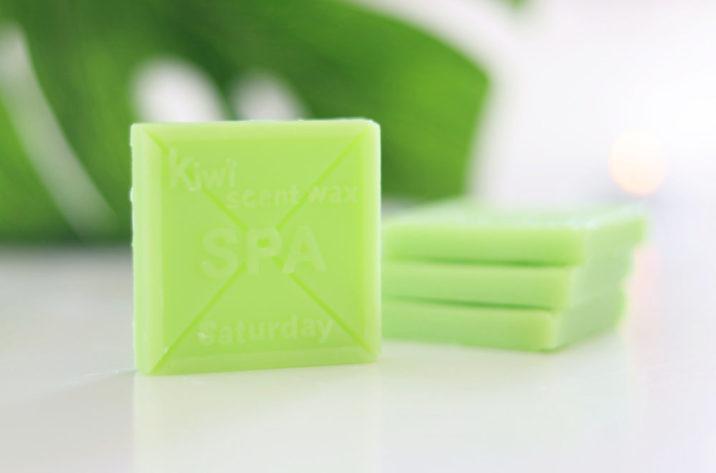 Wosk zapachowy Kiwi – zestaw 4 szt.