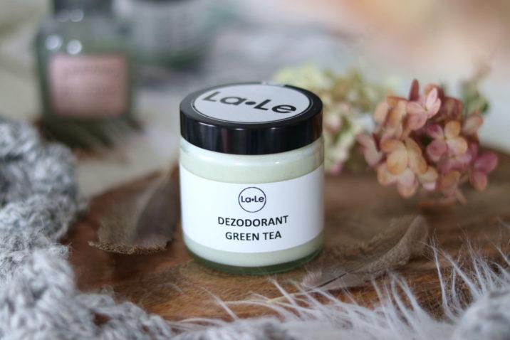 Dezodorant ekologiczny w kremie – zielona herbata