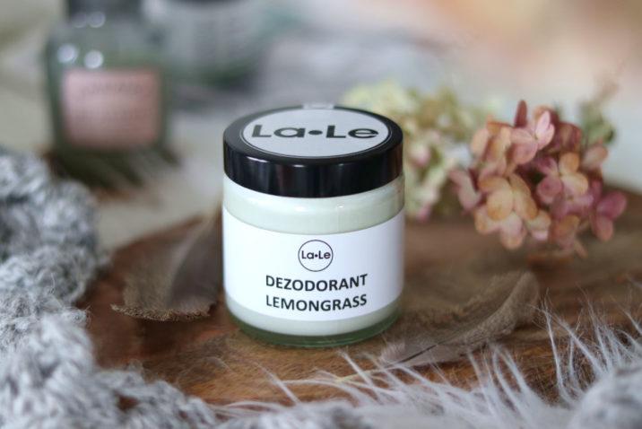 Dezodorant ekologiczny w kremie – lemongrass (trawa cytrynowa)