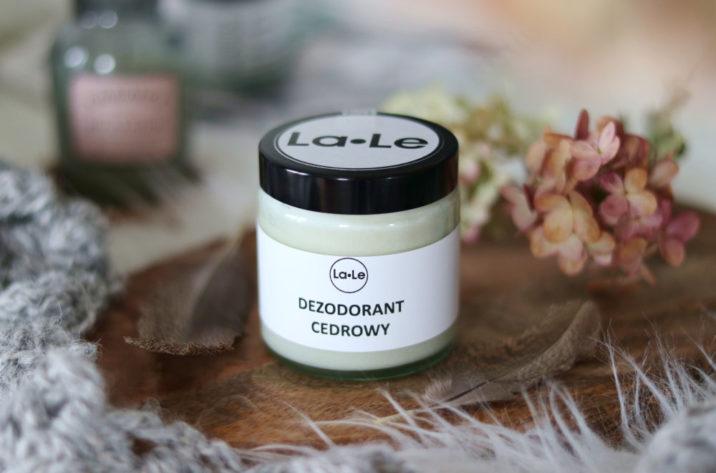 Dezodorant ekologiczny w kremie – cedrowy