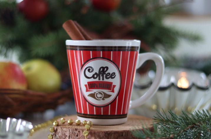 Kubek Coffee Shop – czerwony