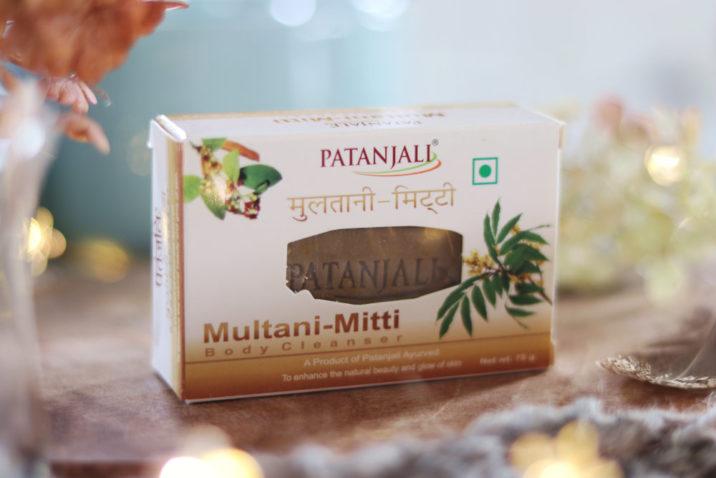 Ajuwerdyjskie mydło z glinką Multani-Mitti
