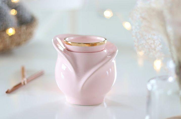 Kominek zapachowy Gold 24k - pastelowy