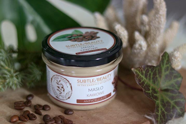 Masło kawowe - antycellulitowe