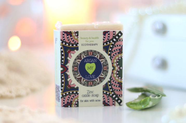 Naturalne mydło przeciwtrądzikowe z cynkiem