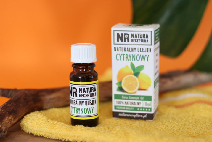 Naturalny olejek cytrynowy