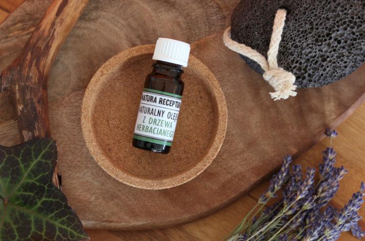 Naturalny olejek z drzewa herbacianego