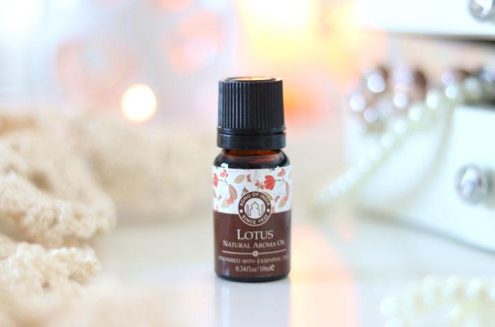 Olejek zapachowy z zakraplaczem, Lotos, Song of India, 10ml