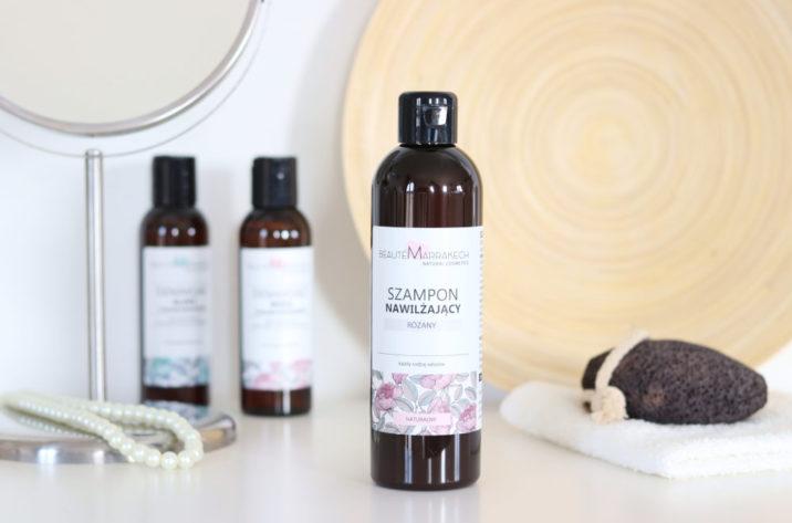 Marokański szampon różany - naturalny
