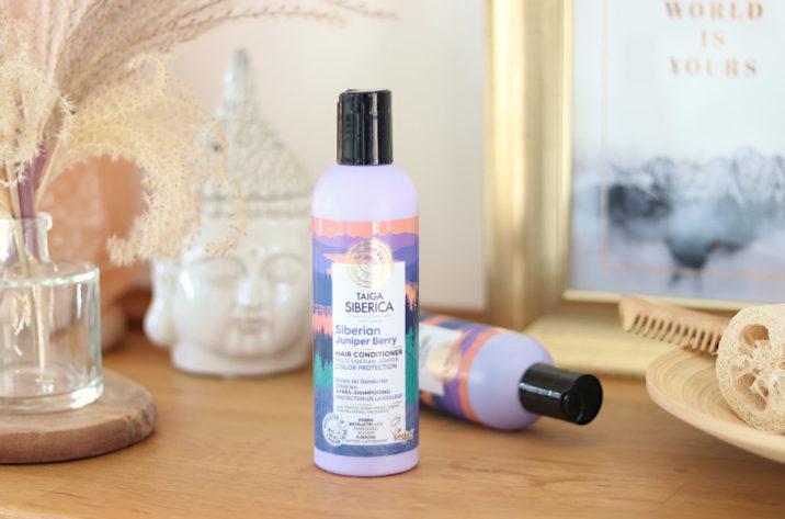 Naturalna odżywka do włosów z jałowcem - ochrona koloru 270ml