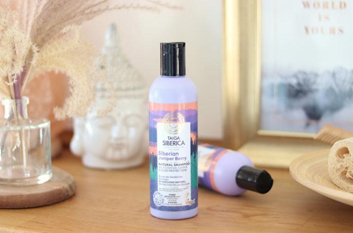 Naturalny szampon do włosów z jałowcem – ochrona koloru 270ml