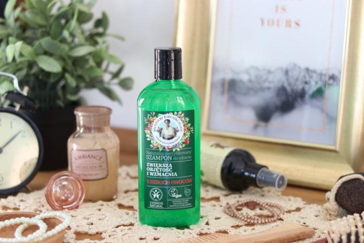 Naturalny szampon do włosów - zwiększający objętość