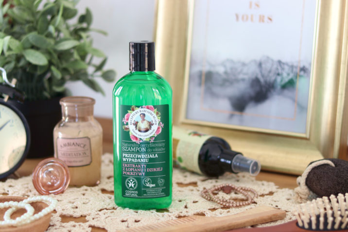 Naturalny szampon przeciw wypadaniu włosów - łopian i pokrzywa