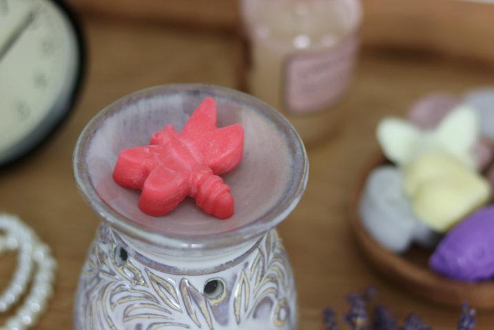 Sojowy wosk zapachowy - smocza krew