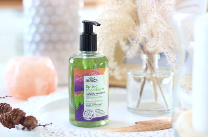 Naturalne mydło do rąk - Kwiaty Tajgi