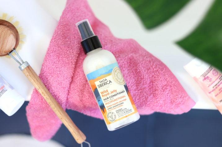 Odżywka do włosów w sprayu z mleczkiem pszczelim 270 ml