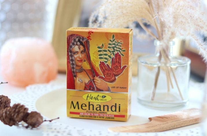 Henna do farbowania włosów i zdobienia ciała Mehendi