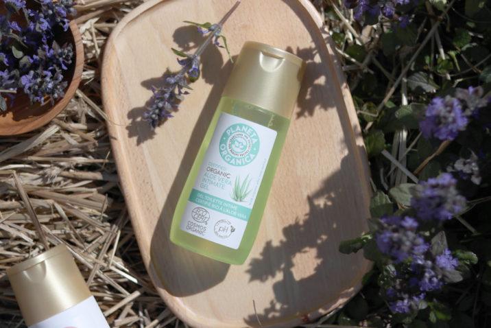 Naturalny żel do higieny intymnej - organiczny aloes