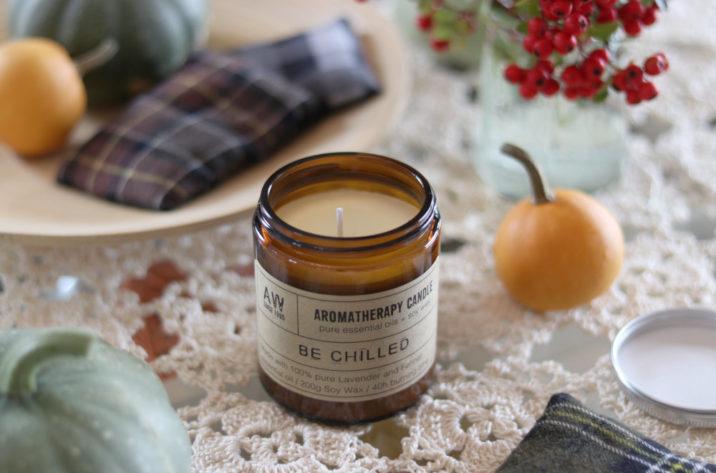 Sojowa świeca aromaterapeutyczna – Be Chilled 200g