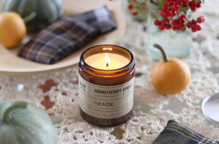 Sojowa świeca aromaterapeutyczna - Peace 200g